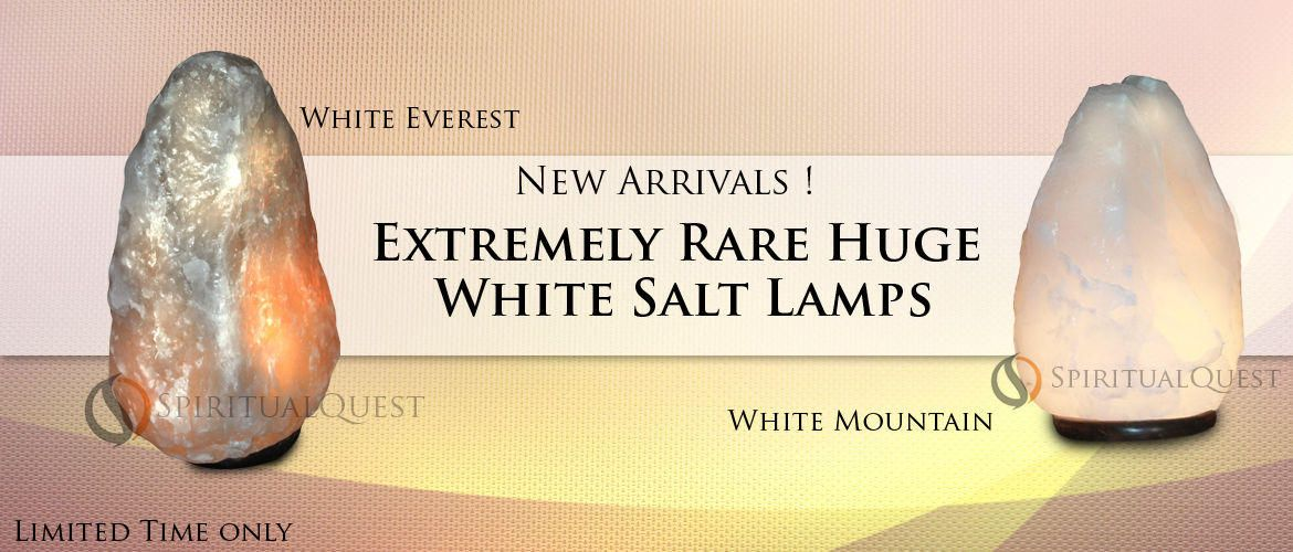 Extremely Rare Huge White Sale Lamps